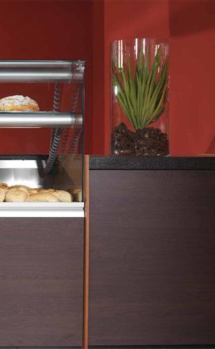 saona bar & counter displays